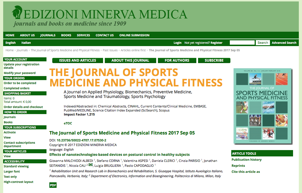 Journal of sports